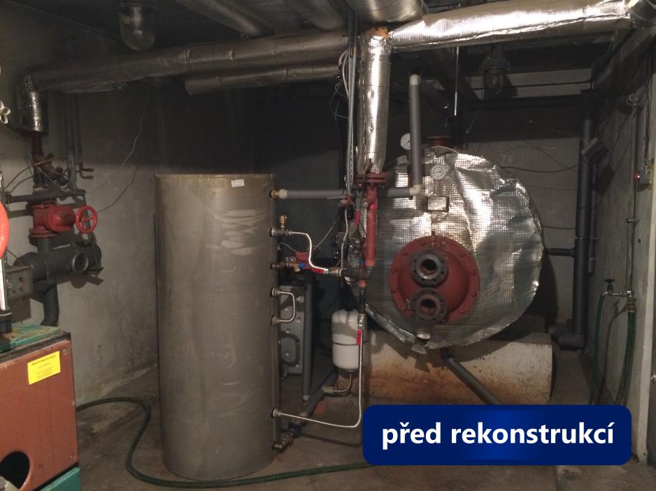 Rekonstrukce kotelny Brno, Barvy - stav před