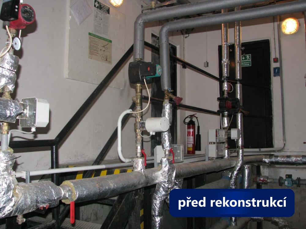 Rekonstrukce kotelny Bílovice uBrna - stav před