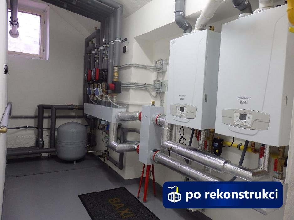 Rekonstrukce kotelny Brno, Lipová - stav po
