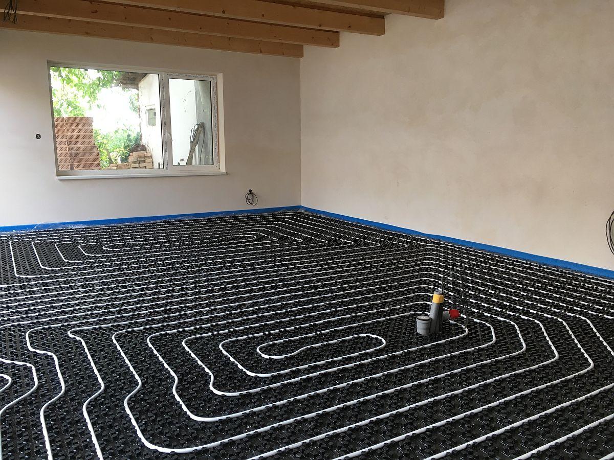 RD Sokolnice - okruhy pro podlahové topení