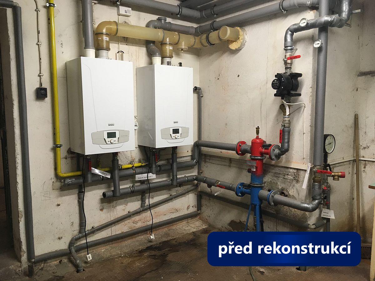 Rekonstrukce kotelny Brno Hlaváčkova - před