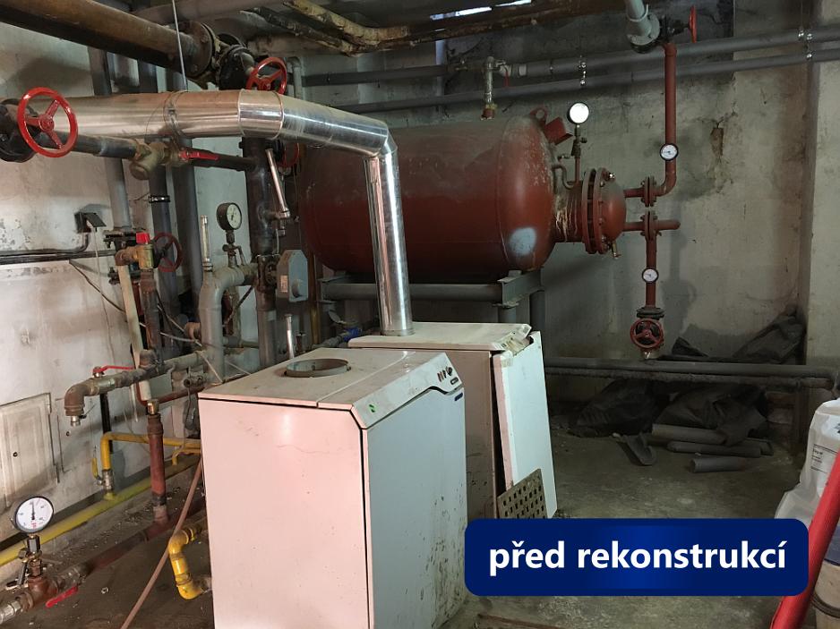 Rekonstrukce kotelny Brno, Tučkova - stav před