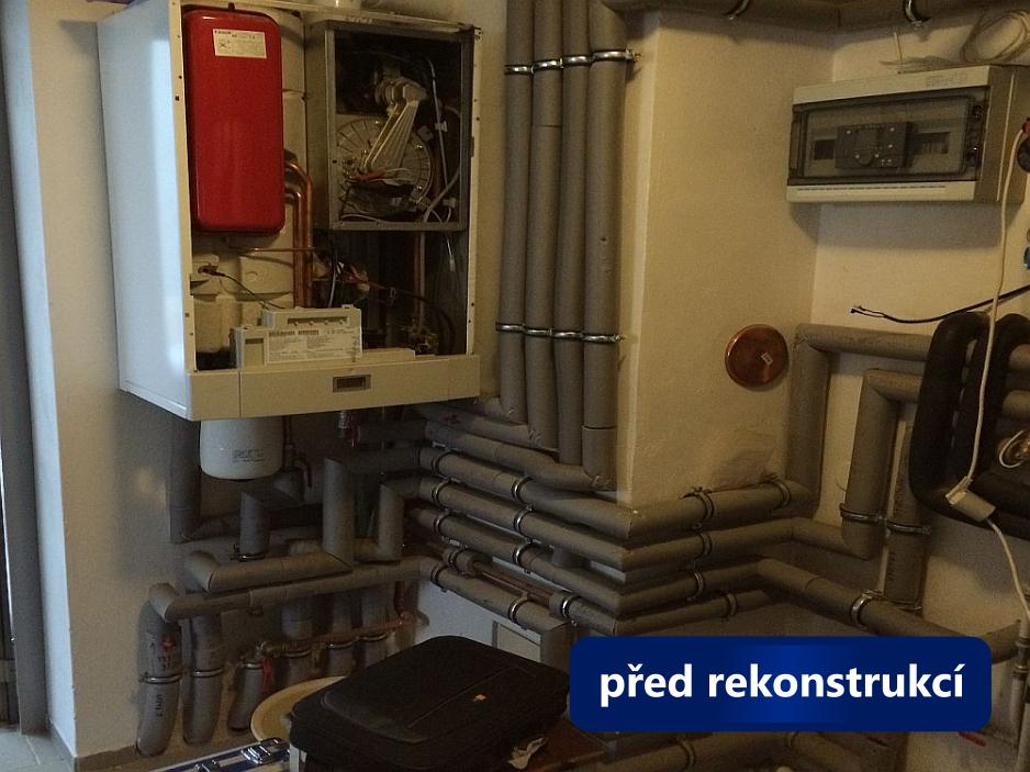 Rekonstrukce kotelny - Černá Hora - před 2