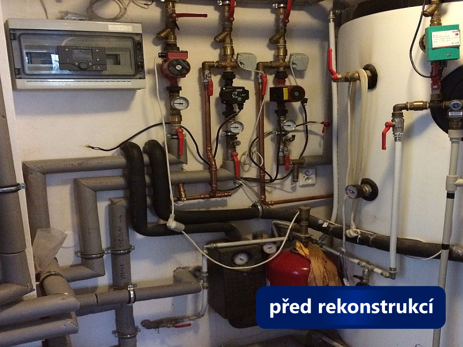 Rekonstrukce kotelny - Černá Hora - před